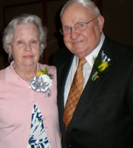 My grandparents at my cousin Shannie's wedding