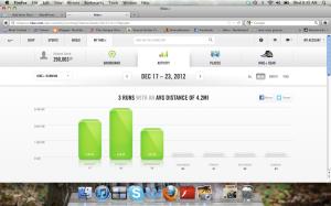 What my Nike account looks like