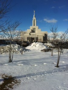 The beautiful Temple I live by. Do you see those blue skies?