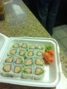 California rolls, yum!