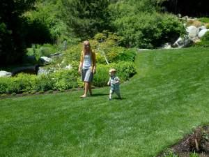 running around with aunty Leeshy
