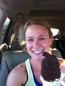 ice cream for the win!